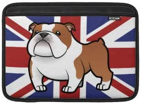 Cartoon Pet with Flag MacBook Sleeve Bag Notebook Computer PC Neoprene Protection Zipper Case Cover 15 Inch