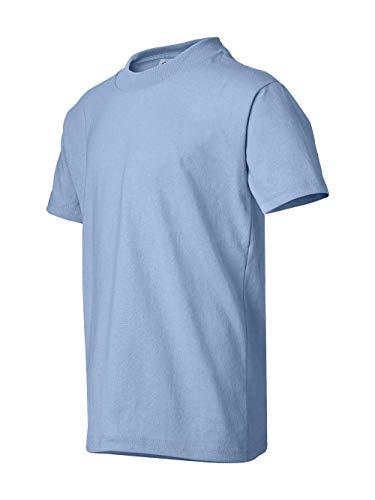 youth light blue tshirt - 8