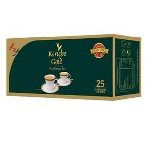 Kericho gold Kenyan Tea (Black Tea, 25 Enveloped Tea Bags, 1.76oz)