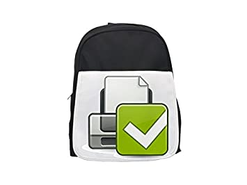 d6a4bbb84f4e Image Unavailable. Image not available for. Colour  Printer Printing Icon  printed backpack