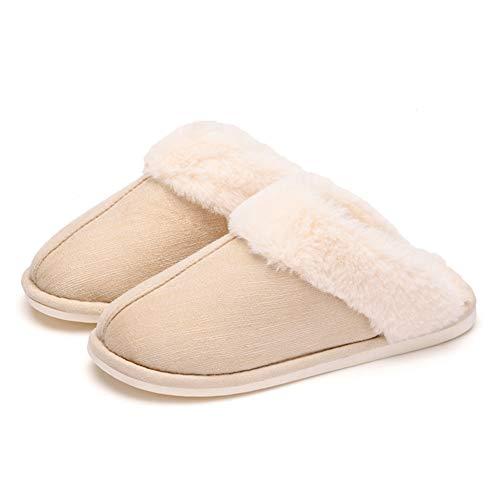 Maternité Belle 37 D'hiver Et Animé B Garder Maison Intérieur Coton couleur B Chaussures Antidérapante Chaud Dessin Pantoufles Coréenne Femelle Taille 36 Version Td Fond Épais Automne nxwSfa0Afq