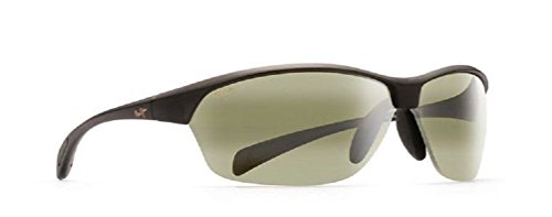 Maui Jim Hot Sands Polarized Sunglasses Translucent Matte Grey / Maui - Maui Lenses Jim Ht