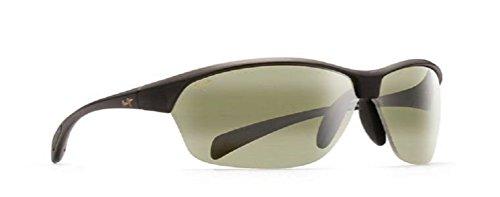 Maui Jim Hot Sands Polarized Sunglasses Translucent Matte Grey / Maui - Hot Glass Sun