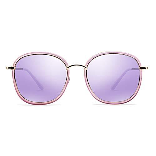 Soleil carré HQCC de Lunettes Mode Cadre Purple Lunettes Violet Soleil rétro Dames de polarisées 110EnqP