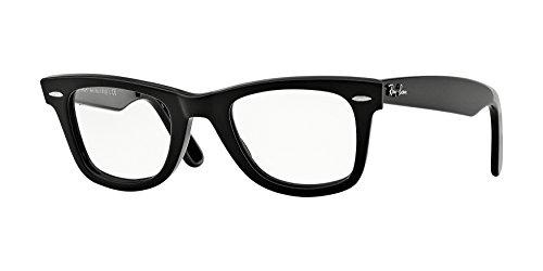 Ray Ban Optical Montures de lunettes RX5121 Shiny Black 47mm 2000 ... c045ef40a6bd