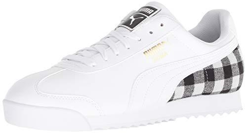 - PUMA Men's Roma Basic Sneaker, WhiteTeam, 12 M US