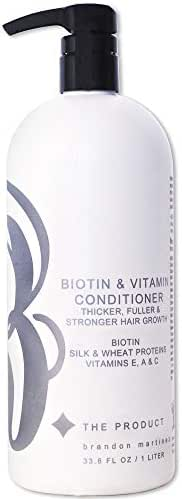 Biotin Vitamin Hair Growth Conditioner-(High Potency) Biotin Conditioner For Fastest Hair Growth, Anti Hair Loss Conditioner, Vitamins E, A, And C, B. THE PRODUCT