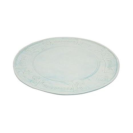 Virginia Casa Ceramiche Prezzi.Virginia Casa Piatto Pizza Piatto Da Portata Ceramica Azzurro O