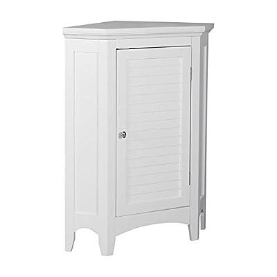 Elegant Home Fashions Slone Corner One-Shutter Door Floor Cabinet