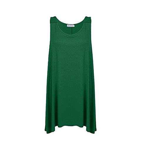 MISS n MAM - Camiseta sin mangas - para mujer verde jade
