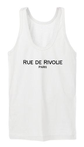 Rue de Rivoli Tanktop Girls Blanc