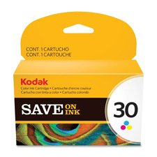 Kodak Ink Cartridge, No. 30, 275 Page Yield, Tri-Color, Sold (275 Page Yield Tri Color)