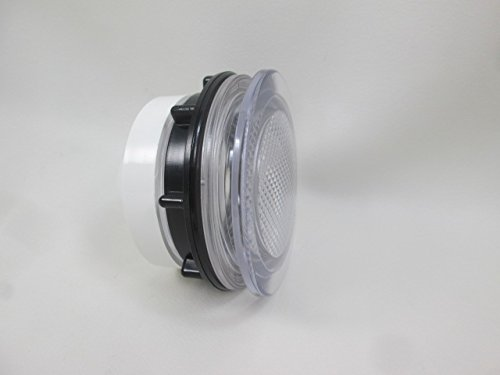 Spa Hot Tub Clear Light Lens 3 1/4'' Face 2 1/2'' Hole How to Video Lense