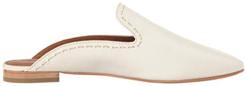 Frye Mujeres Gwen Pickstitch Slide Mule White