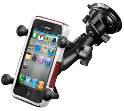 RAM Mounts Composite Twist Lock Suction Cup Mount with Unive
