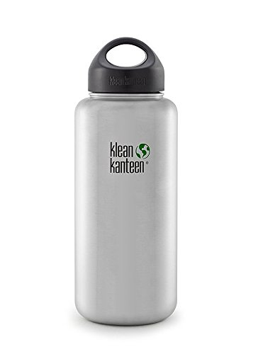 Klean Kanteen Wide Mouth Bottle with Stainless Loop Cap
