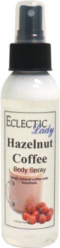 Hazelnut Coffee Body Spray by Eclectic Lady