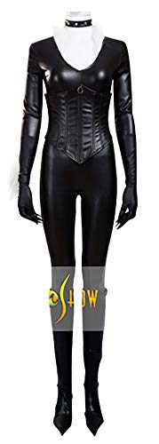 Mtxc Women'sThe Amazing Spider-Man Cosplay Costume Black Cat Full Set Size XX-Small Black for $<!--$107.00-->
