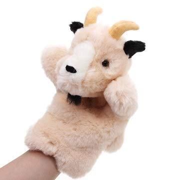 - Easyflower Plush Toy Antelope Plush Hand Puppet,27CM Stuffed Toy Antelope Fairy Tale Hand Puppet Classic Children Figure Toys Plush Aniaml ( Color : 01 )