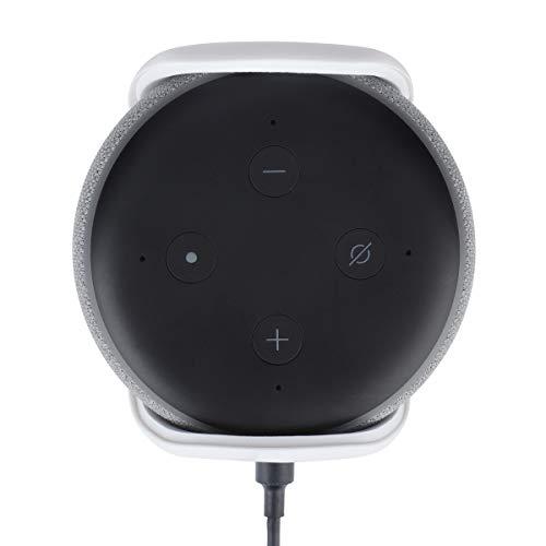 Echo Dot (3rd Gen) Wall Mount Hanger Holder, A Space-Saving Accessories for All-New Echo Dot (3rd Gen) - Smart Speaker