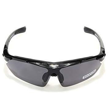5f148f43d2 Image Unavailable. Image not available for. Colour  Rockbros Polarized  Cycling Bike Bicycle Sunglasses Glasses Goggles-Black