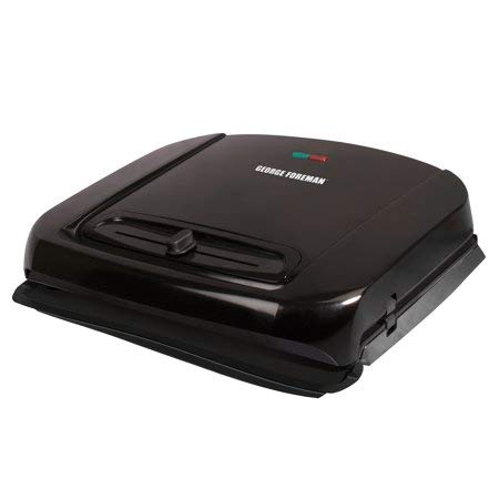 George Foreman 6-Serving Removable Ceramic Plate Electric In