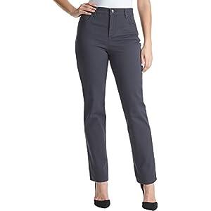 Gloria Vanderbilt Women's Amanda Classic Tapered Jean (Grey Twilight, 8 Average)