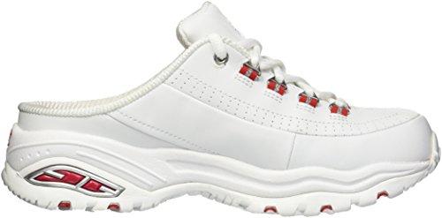 clearance sale clearance wide range of Skechers Women's Premium-Break Even Sneaker White/Red qICc89o