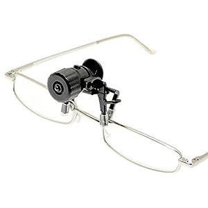 Atoplee 1pcs Eye Glasses Reading Glasses Clip LED Light Mini Flashlight