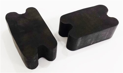 Nova Front Coil Springs (Universal Front Coil Spring Repair Riser Booster Rubber Lift Blocks, 2