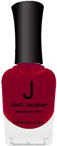 Scarlet Lacquer (J Nail Polish - #019 Scarlet 6-Count (Pack of 2))