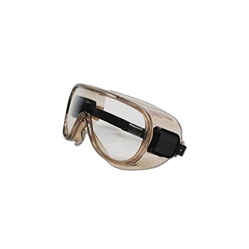 Encon 500 Series High Impact Chemical Splash Protective Safety Goggles, Gray Frame / Clear Lens (Encon Goggles Safety)