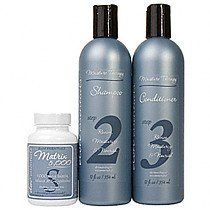 ELON - Thinning Hair System - Maintenance - Dermatologist Recommended - ELON Moisture Therapy Shampoo, ELON Moisture Therapy Conditioner & ELON Matrix 5000 Hair Vitamins (60 tablets) by Elon