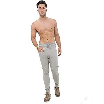 Neuf de Marque pour Hommes Polaire Fin Joggeurs Maigres Jogging Pantalon Bas Hommes: vêtements Vêtements, accessoires