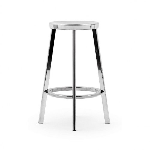 Alu Barhocker déjà vu stool bar stool aluminium size 2 h 66cm amazon co uk