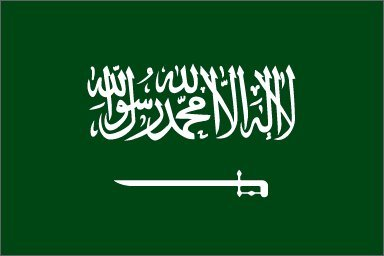 saudi arabia flag 3 x 5 feet - 2