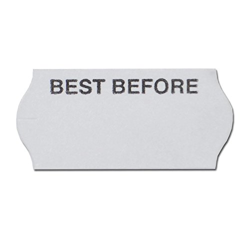 Price Gun Labels CT4 Best Before 26 x 12mm (10,000 Labels) by Swift