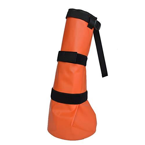 (Yeezo Horse Soaking Boot Hoof Soaker Bag Horse Wrapped Soak Treatment Bags for Thrush & Bacterial Infection Treating )