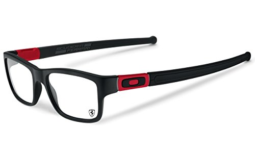 Oakley Glasses Frames Marshal 8034-09 Matt Black Ferrari - Mens Oakley Glasses Frames
