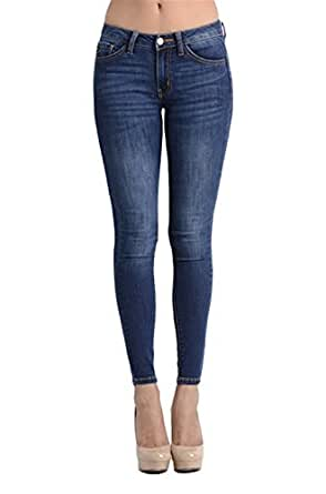 Kan Can - Jeans para Mujer, Oscuro, 1