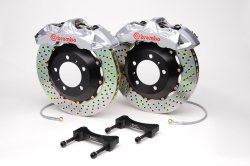 Brembo 1M1.8024A3 GT Big Brake Kit Front Drilled Infiniti G35 03-06