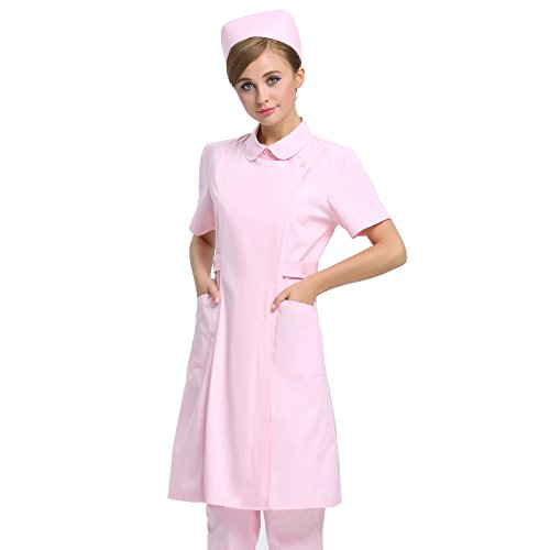SongXin SX Women's Button Front Short Sleeve Work Dress for sale  Delivered anywhere in USA