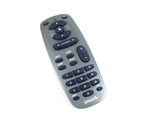 Sirius Sportster 3, Starmate 3, Streamer, Stratus Remote Control