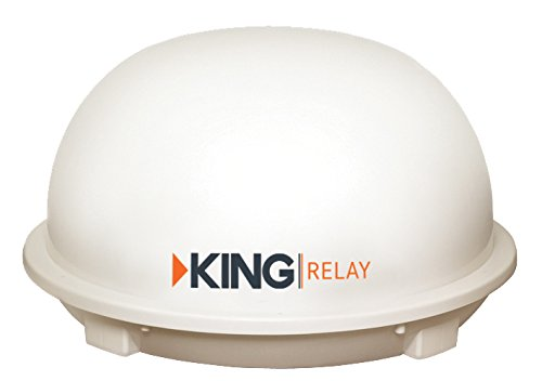 King Controls KD5500 King Dome White Relay-Automatic Satellite System by King Controls