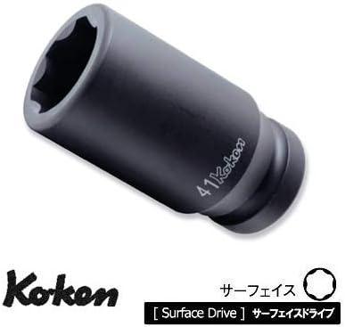 """コーケン 1""""(25.4mm)SQ. インパクトサーフェイスディープソケット 36mm 18310M-36"""