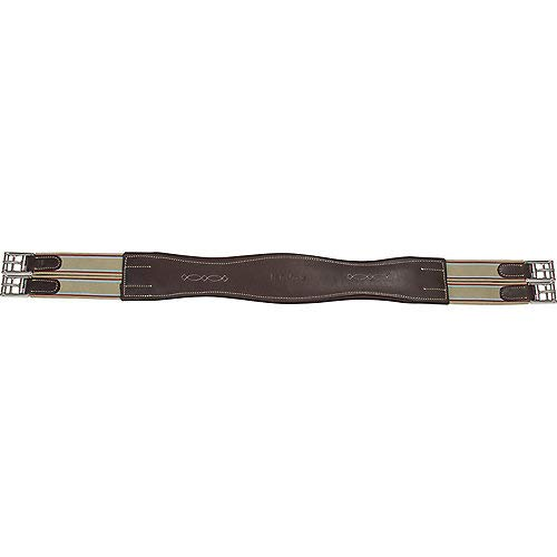 M. Toulouse Contour Shape Padded Leather Girth 48in