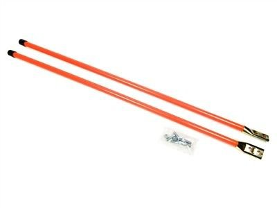 "New Pair of 36"" Universal Snow Plow BLADE MARKER GUIDE KIT Fluorescent Orange by The ROP Shop"