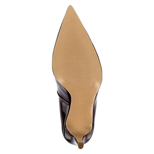 Evita Shoes Jessica - Zapatos de vestir de Otra Piel para mujer granate