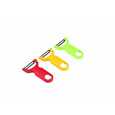 Kuhn Rikon 3-Set Original Swiss Peeler, Red/Green/Yellow