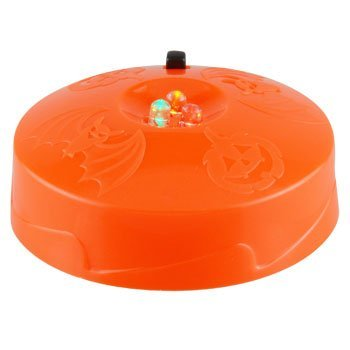 LED Strobe Light Toddlers Kids Jack O Lantern Scary Spooky Creepy Turkey Harvest Halloween Party Indoor Outdoor Decoration Decorations Decor Haunted House Pumpkin by nknown ()